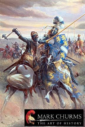 scottish art | Scottish Medieval Knights Military History Art Prints - Robert The ...