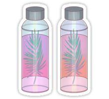 Plant bottle sticker pack!  ---- #tumblr  #aesthetic #vaporwave #music #the1975 #tropical #plants #palmtrees #colorful #artistic #retro #vintage #love #pink #blue #vegan #water #seapunk #artsy #waterbottle #cute #kawaii #pastel #watercolor #stickersheet #stickerpack