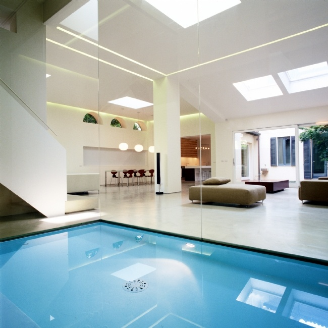 Dream House With Indoor Pool For Decorating Ideas