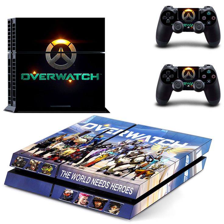 Overwatch ps4 skin for console and controllers