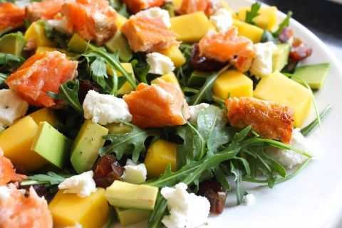 Mango Zalm Salade