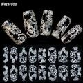 11Pcs/Set 20Slots Nail Art Stamp Plate Stamping Plates Cases+10Pcs Steel Nails Image Plates Flower/Lace Manicure Template XYL-in Nail Art Templates from Beauty & Health on Aliexpress.com   Alibaba Group