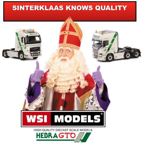 Sinterklaas knows quality , and it fits in a shoe 👞🎁😎#sinterklaas #wsi #scania #volvo #quality #models WSI Models