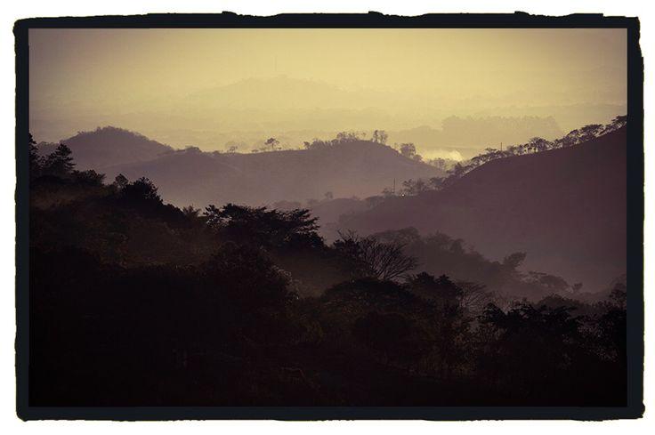 Entrée de la vallée de jamastran honduras