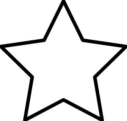 Imágenes de Estrellas para Colorear e Imprimir | Estrellas | Star