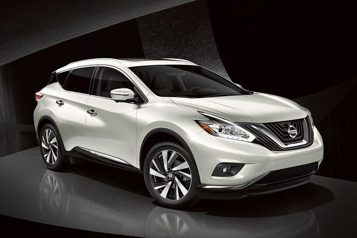 My new car....2016 Nissan Murano side view Pearl White