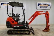 KUBOTA KX41-3 MINI TRACK EXCAVATOR PUSH BLADE AUXILLARY HYDRAULICS 1606 HRS! apply to finance www.bncfin.com/apply excavators for sale - excavator financing