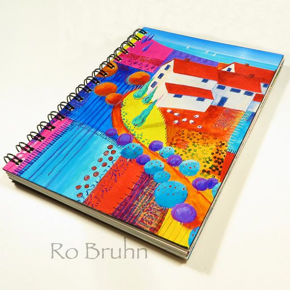 Hand made journal by robruhn on Etsy, $35.00