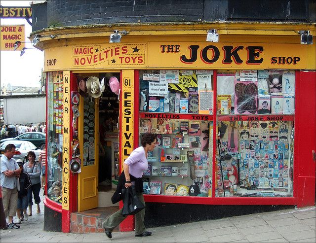 The Joke Shop Scarborough By Evissa Via Flickr Joke