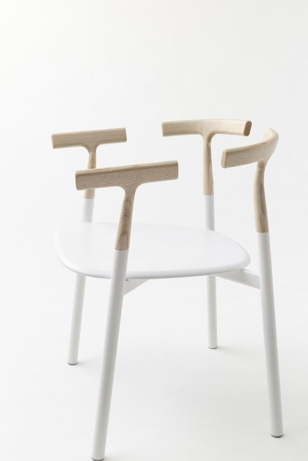 Twig is a minimalist chair created by Tokyo-based design firm Nendo for Alias.