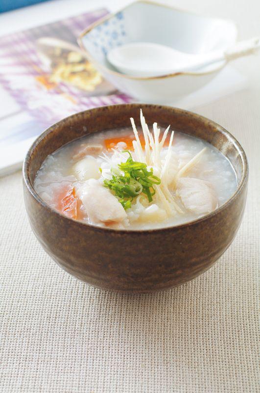 tilapia congee with lily bulbs | Taiwanese Cuisine 百合魚片粥