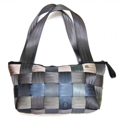 seat belt bag..lined with denim
