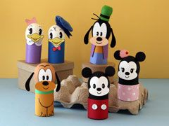 """Disney Easter Crafts & Recipes   Have the """"hoppiest"""" of holidays with these darling Disney-inspired crafts, recipes, and printables."""