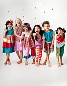 NEW Imagine Collection by #zozobugbaby!  Hair accessories by #maya's curls!