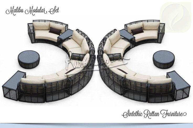 MALIBU Modular Set – Outdoor Wicker Furniture