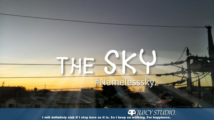 【 Relax - Timelapse 】 The SKY #Namelesssky. - October sky
