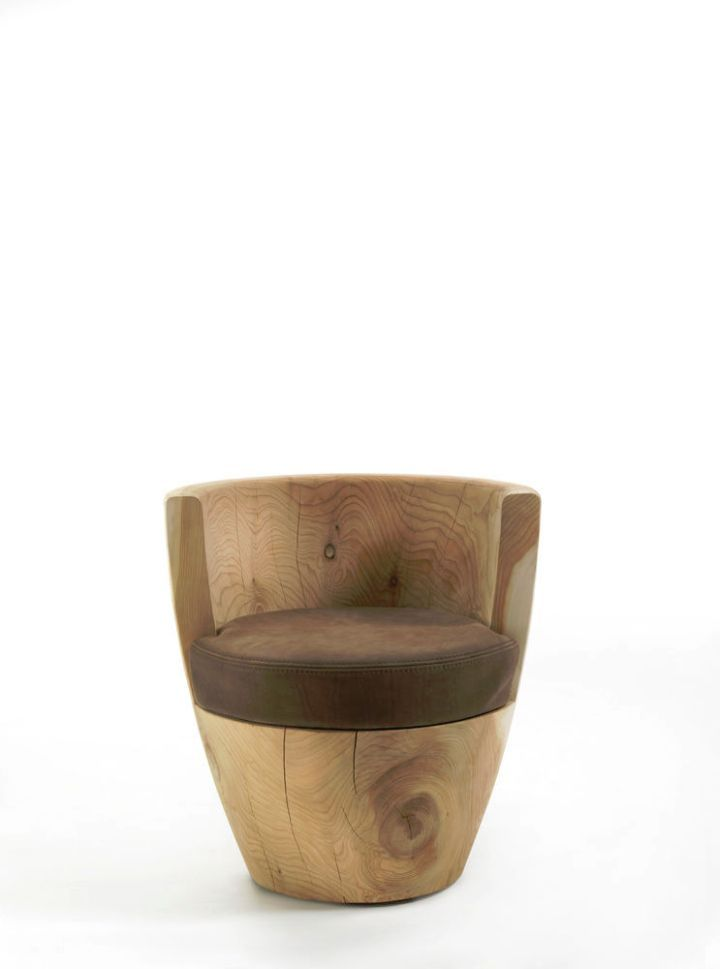 Design bar - the seat wood-organic chear