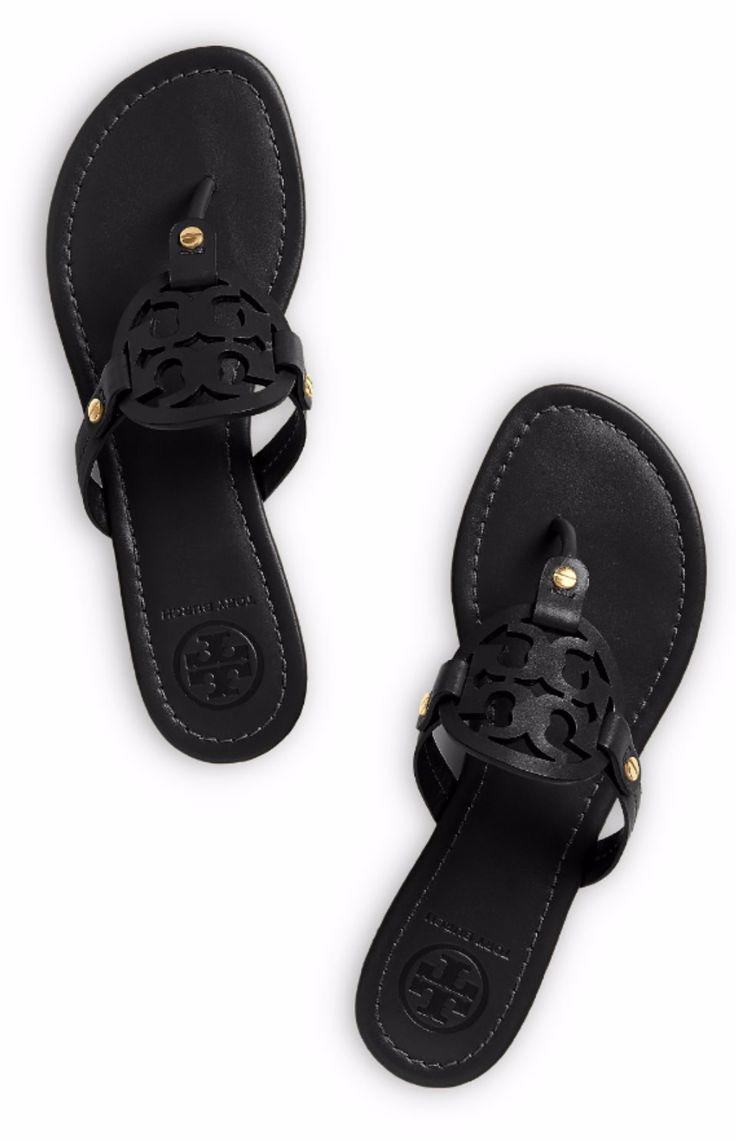 Tory Burch Miller Sandal ❥Pinterest: yarenak67