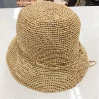 新品!ヘレンカミンスキー ラフィア 編みハット 帽子 55cm