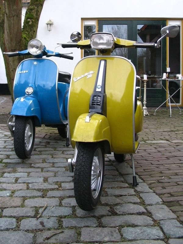 Redone Vintage Vespas. This is my speed, then again my wife would still say NO!