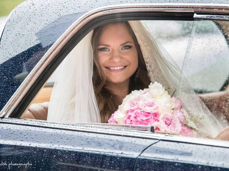 Svadba v odtieňoch ružovej