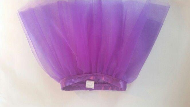 Plain purple tutu