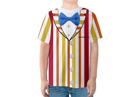 Kid's Bert Mary Poppins Inspired Disneybound Shirt