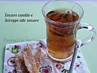 Lo zenzero candito e lo sciroppo di zenzero senza zucchero