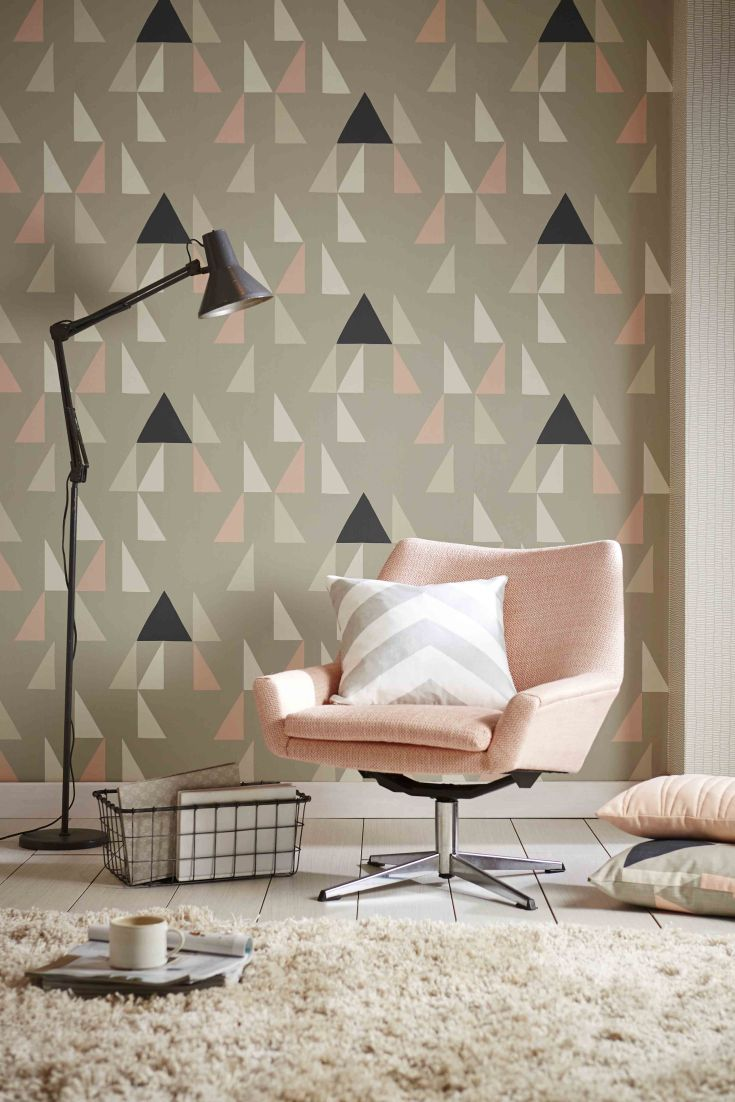 Gorgeous wallpaper design called Modul by Scion.                                                                                                                                                                                 More