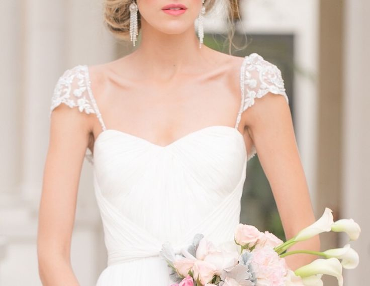 109 best images about adding straps to a wedding gown for Adding sleeves to a wedding dress
