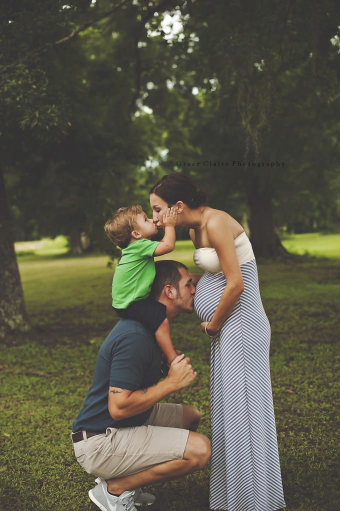 This may well be the squishiest maternity picture I've ever seen! Ryan and Shanea: Maternity | Grace Claire Photography