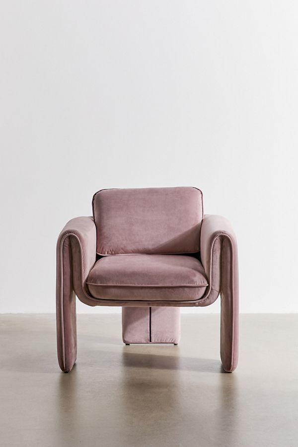 Floria Velvet Chair Velvet Chair Chair Affordable Furniture