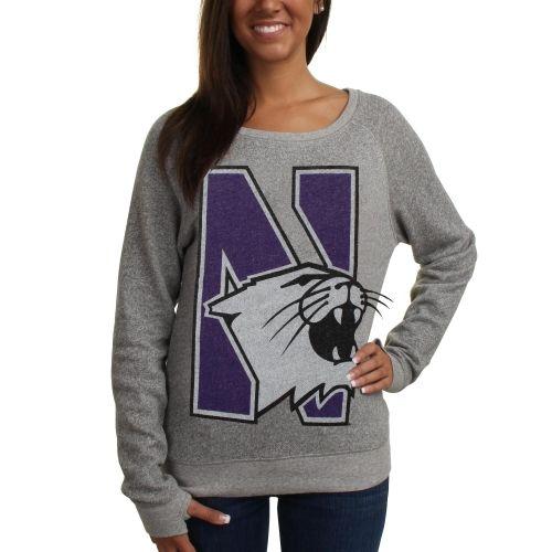 Northwestern Wildcats Women's Knobi Fleece Sweatshirt