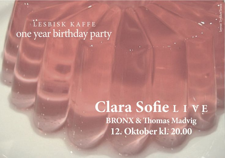 Clara Sofie live  Thomas Madvig & Bronx Dj-set
