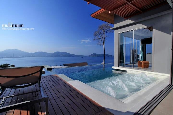 Private Pool Villa at Kalima Resort and Spa, Phuket, Thailand.