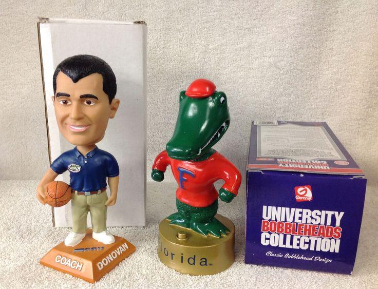 Billy Donovan and Florida Gators Mascot Bobblehead Set