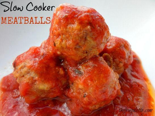 Easy Slow Cooker Meatballs Recipes — Dishmaps