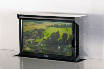30 Best Images About Kitchen Tvs Flipdown Tv Pop Up Tv