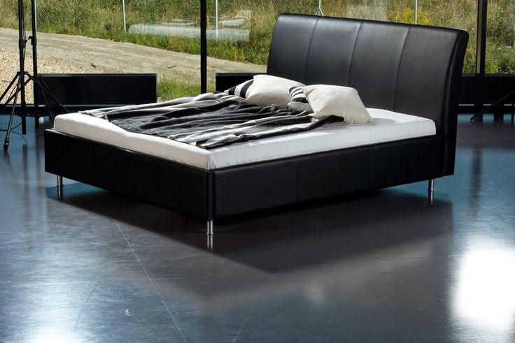 postel Casablanca Modely s harmonickým designem, kde dominantu tvoří prošité, elegantně prohnuté čelo.