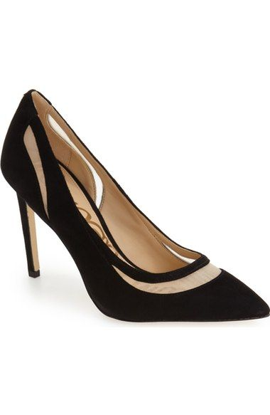 Sam Edelman 'Nixon' Pointy Toe Pump (Women) available at #Nordstrom