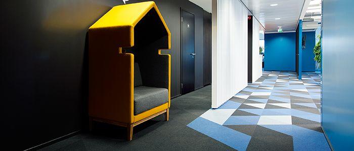 Kobercové dílce Fletco v atraktivních geometrických tvarech. / Fletco carpet tiles in geometrical eye-catching shapes. http://www.bocapraha.cz/cs/aktualita/66/kobercove-dilce-fletco-v-novych-atraktivnich-tvarech/
