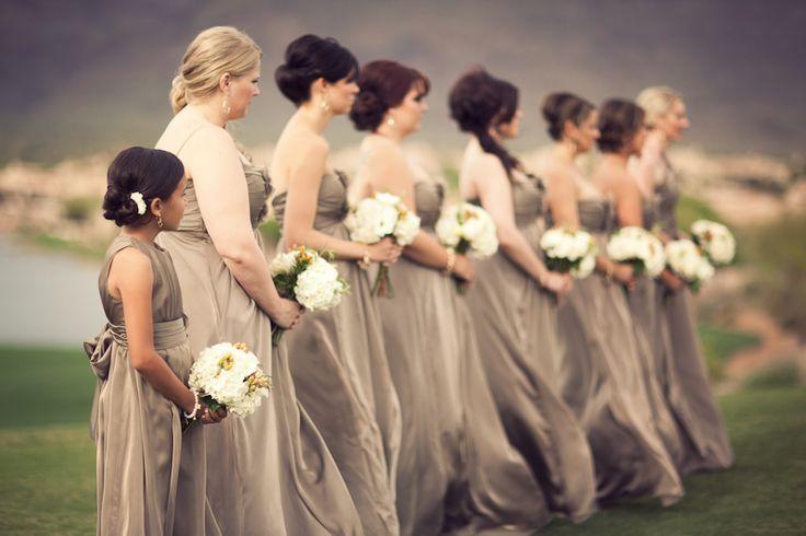 Jim-Hjelm-Stone-Bridesmaids-Dresses | photography by http://www.davisphotographers.com/