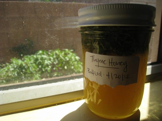 How To Make Thyme Honey