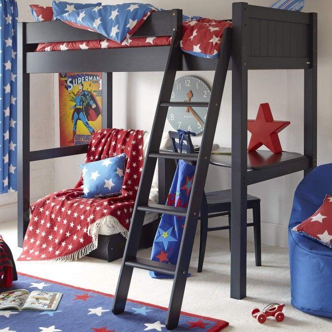 Warwick High Sleeper Bed With Futon