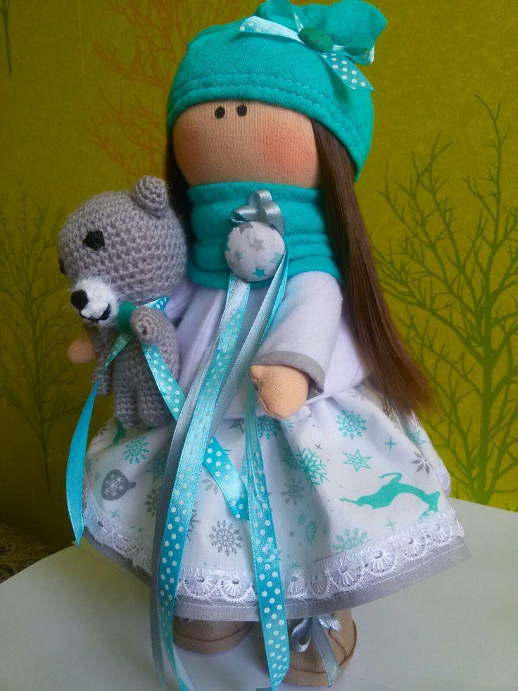 Автор Казазаева Наталья. Текстильная куколка.