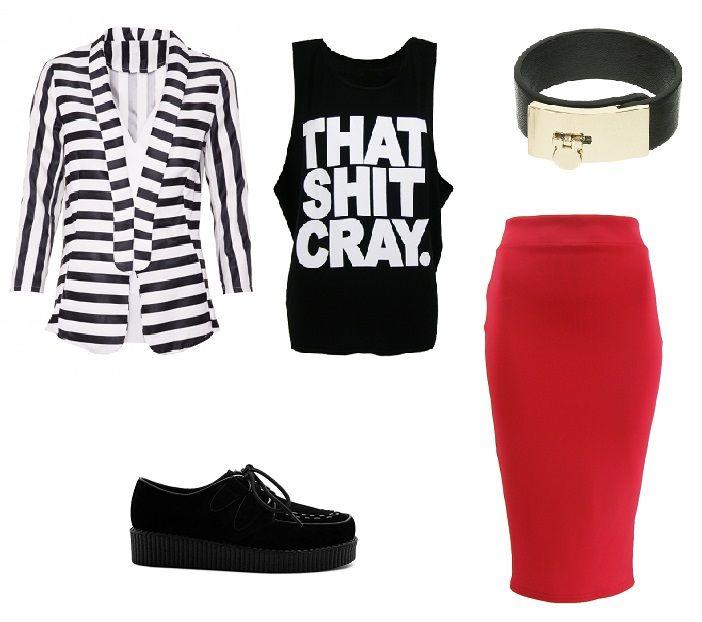 http://magazyn.modadamska.waw.pl/, stylizacja, casual, ołówkowa spódnica, spódnica ołówkowa, stylizacja casualowa