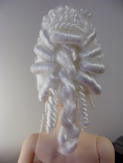 Making a Marie Antoinette style wig - small size on a doll but maybe could use this as jumping off point for a human sized one? http://www.arkathwyn.com/bjd---rococo-wig.html