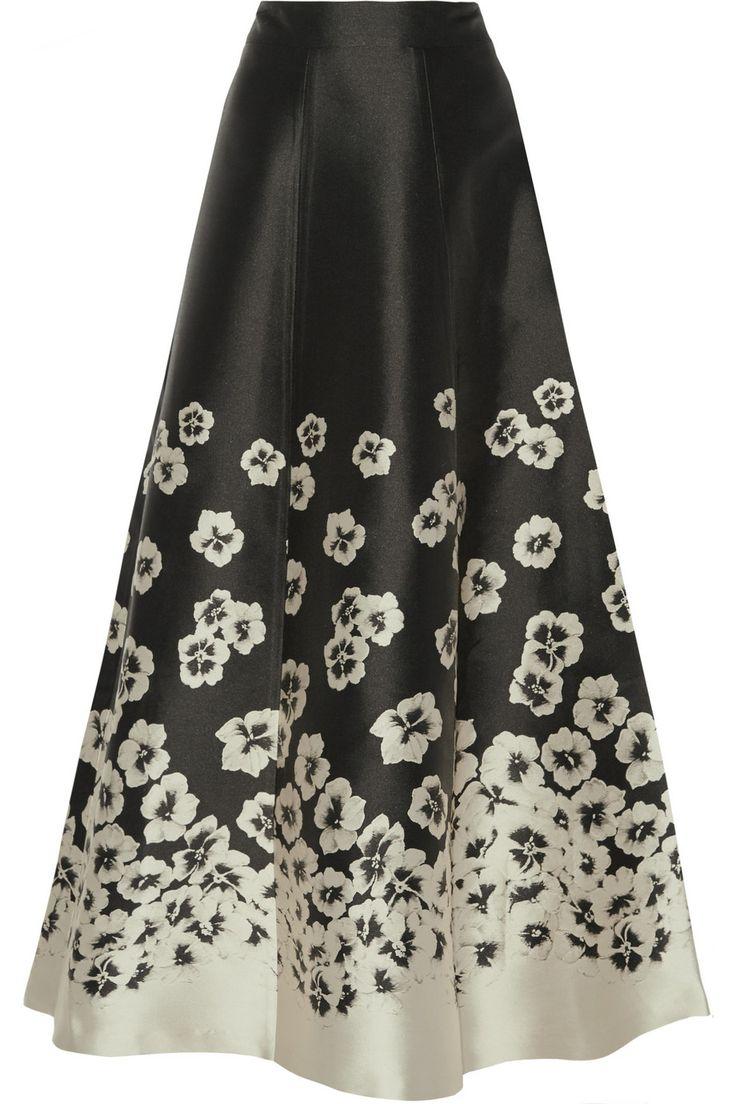 Alice + Olivia Suri jacquard maxi skirt NET-A-PORTER.COM