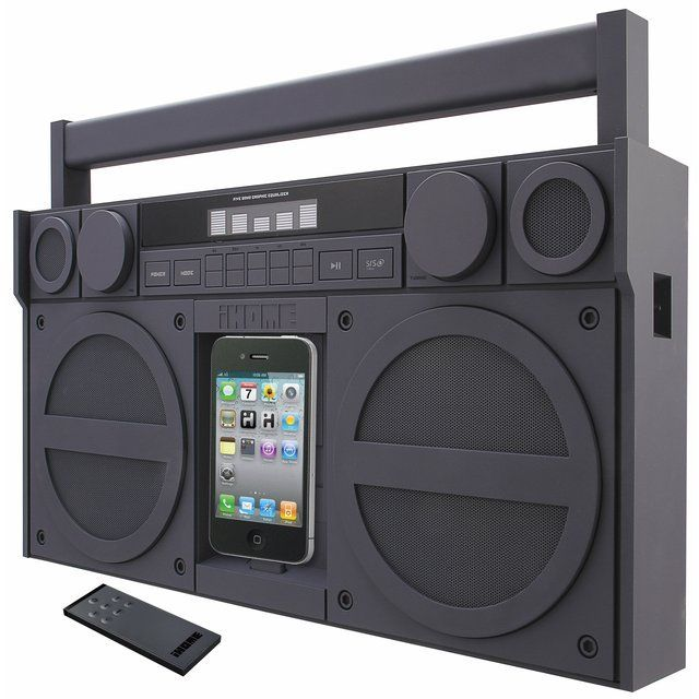 Fancy - iHome iPod Boombox