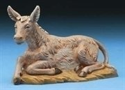 Seated Donkey Christmas Nativity Animal Figurines